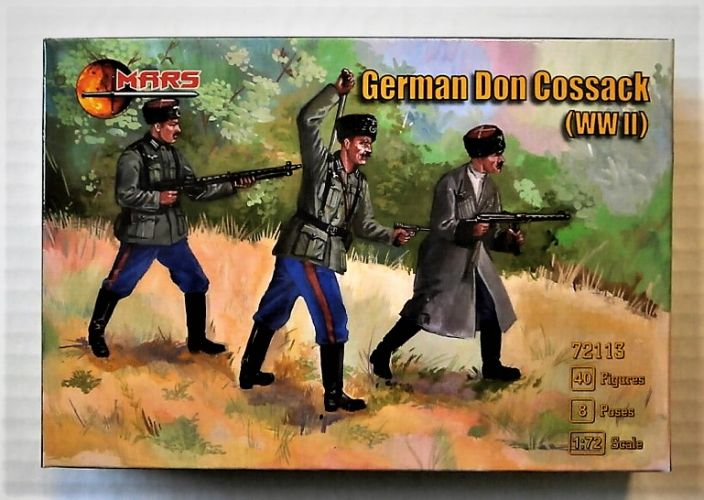 MARS 1/72 72113 GERMAN DON COSSACK WWII