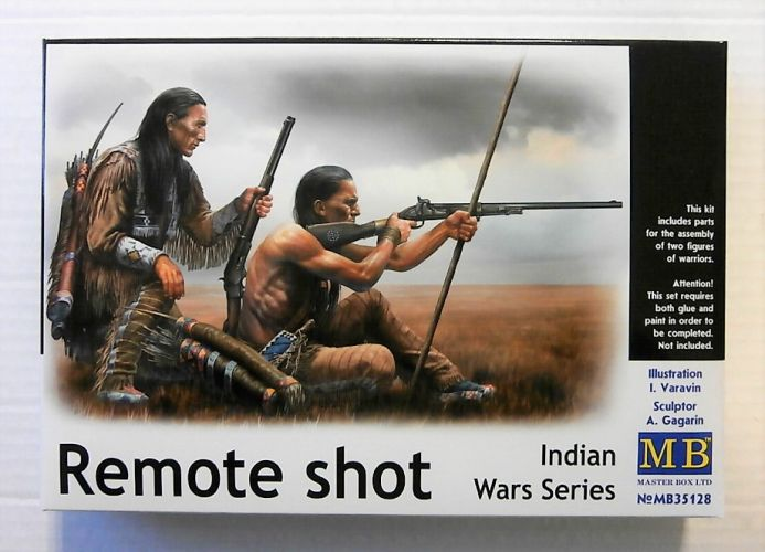 MASTERBOX 1/35 35128 INDIAN WARS SERIES  REMOTE SHOT