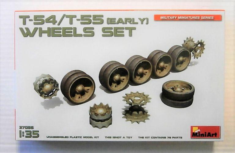 MINIART 1/35 37056 T-54/T-55 EARLY WHEELS SET