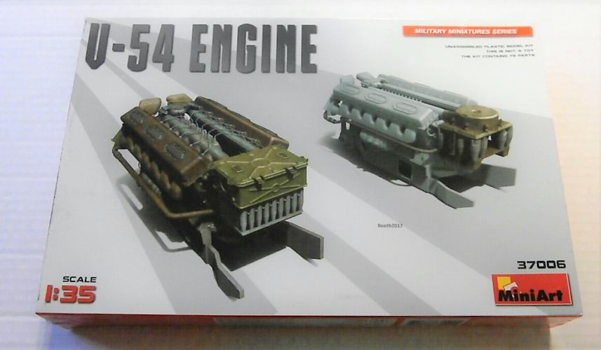 MINIART 1/35 37006 V-54 ENGINE FOR T-54 TANK