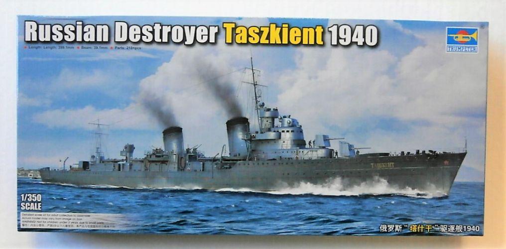 TRUMPETER 1/350 05356 RUSSIAN DESTROYER TASZKIENT 1940