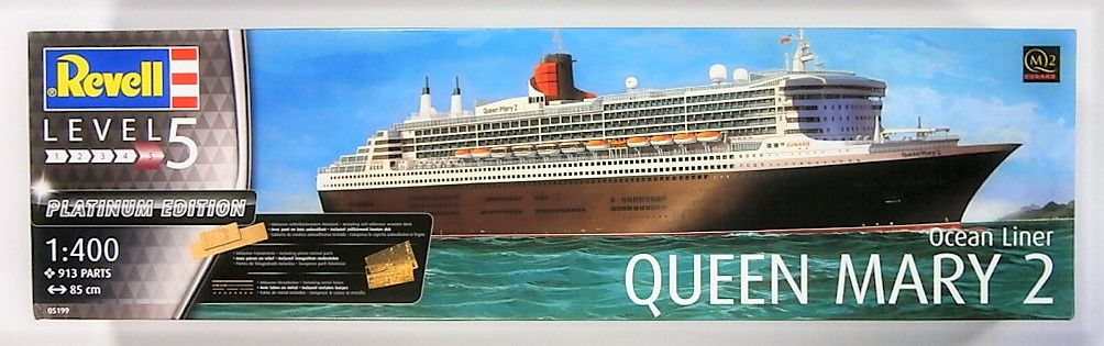 REVELL 1/400 05199 QUEEN MARY 2 PLATINUM EDITION  UK SALE ONLY