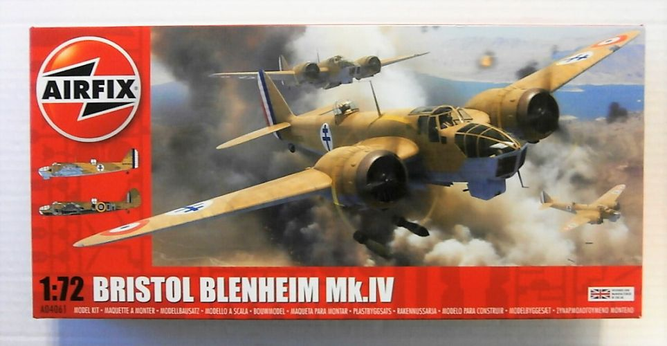 AIRFIX 1/72 04061 BRISTOL BLENHEIM MK IV