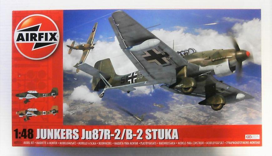 AIRFIX 1/48 07115 JUNKERS Ju 87R-2/B-2 STUKA