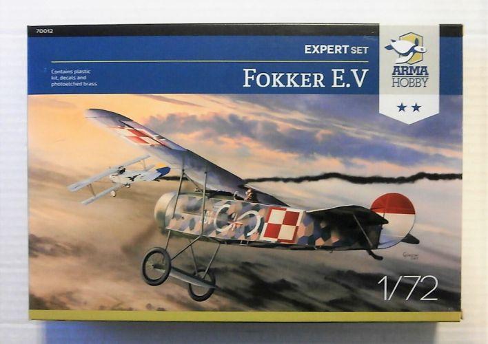 ARMA HOBBY 1/72 70012 FOKKER E.V EXPERT SET