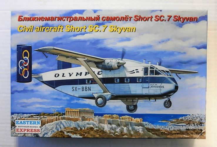 EASTERN EXPRESS 1/144 144117 CIVIL AIRCRAFT SHORT SC.7 SKYVAN
