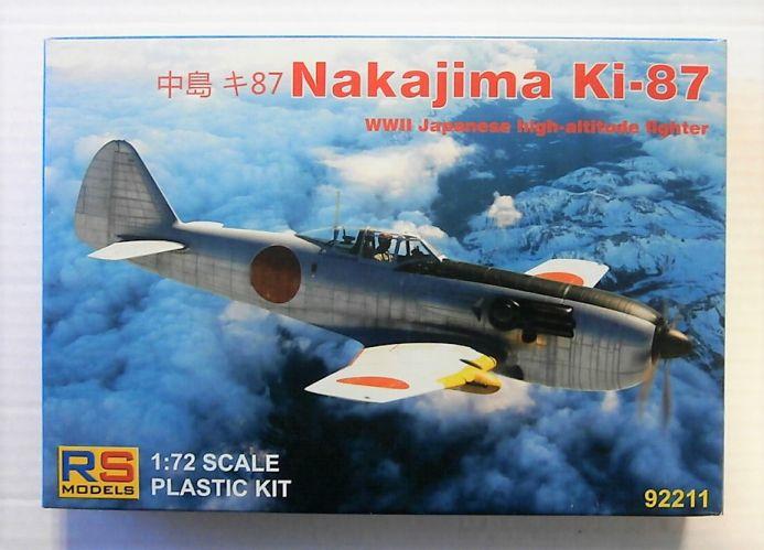 RS MODELS 1/72 92211 NAKAJIMA KI-97