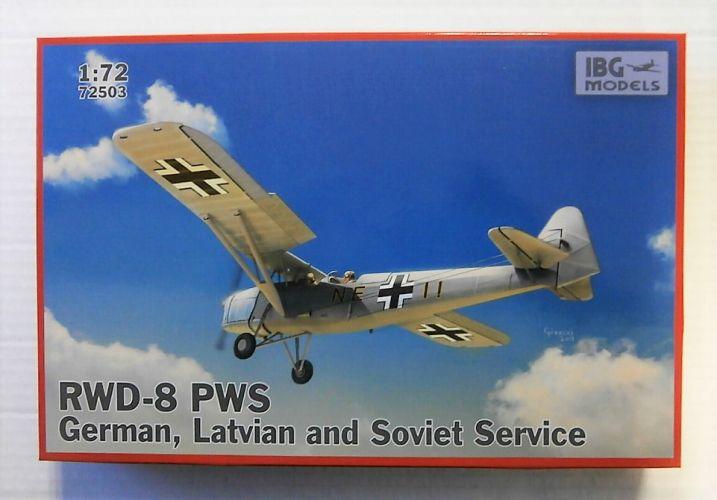 IBG MODELS 1/72 72503 RWD-8 PWS GERMAN LATVIAN   SOVIET SERVICE