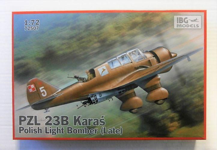 IBG MODELS 1/72 72507 PZL 23B KARAS LATE