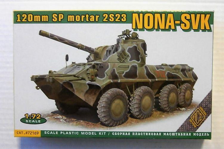 ACE 1/72 72169 2S23 NONA-SVK 120MM SP MORTAR