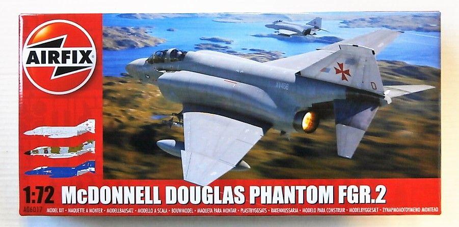 AIRFIX 1/72 06017 McDONNELL DOUGLAS PHANTOM FGR.2