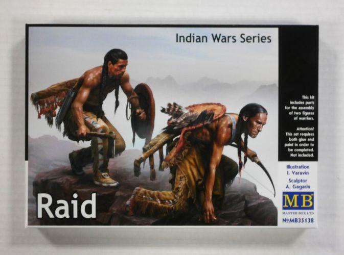 MASTERBOX 1/35 35138 INDIAN WARS SERIES  RAID