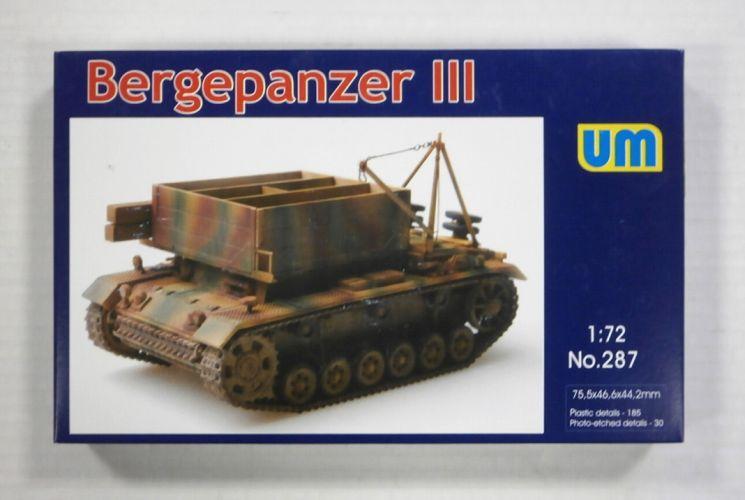 UNIMODEL 1/72 287 BERGEPANZER III