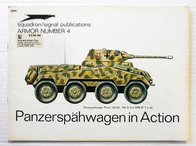 SQUADRON/SIGNAL ARMOR IN ACTION  2004. PANZERSPAHWAGEN IN ACTION