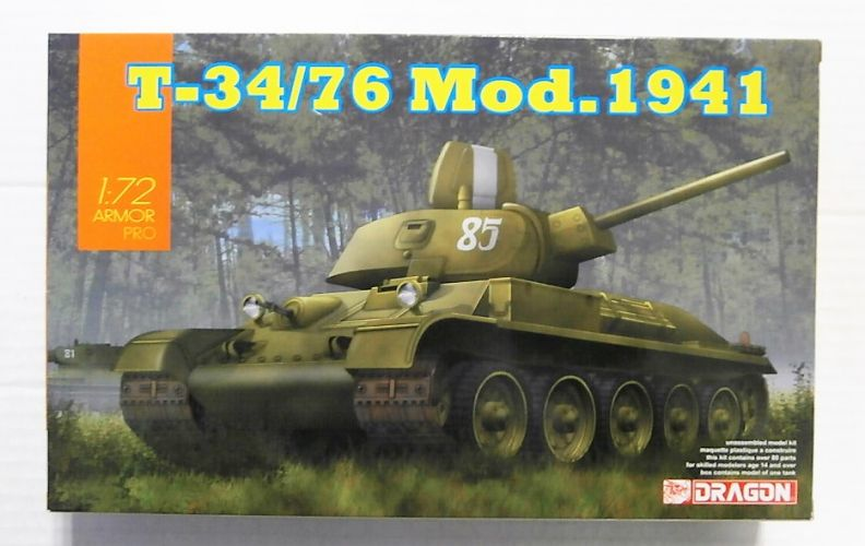 DRAGON 1/72 7590 T-34/76 Mod.1941