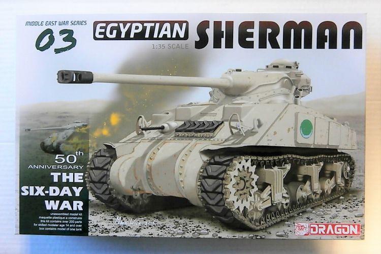DRAGON 1/35 3570 EGYPTIAN SHERMAN