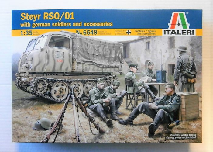 ITALERI 1/35 6549 STEYR RSO/01