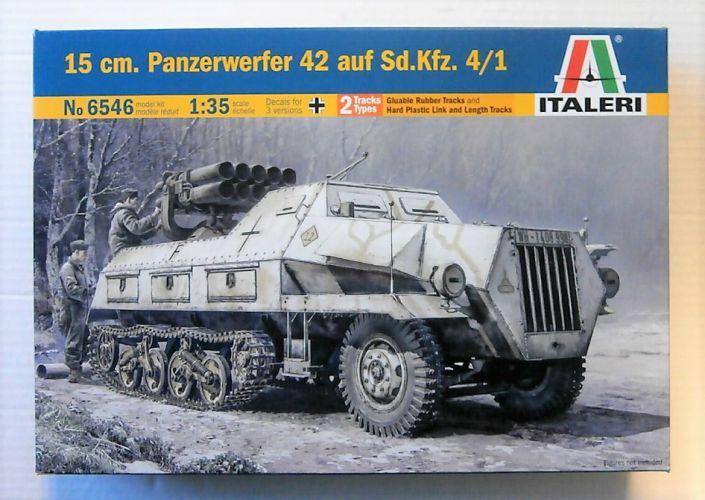 ITALERI 1/35 6546 15CM PANZERWERFER 42 AUF SD.KFZ 4/1