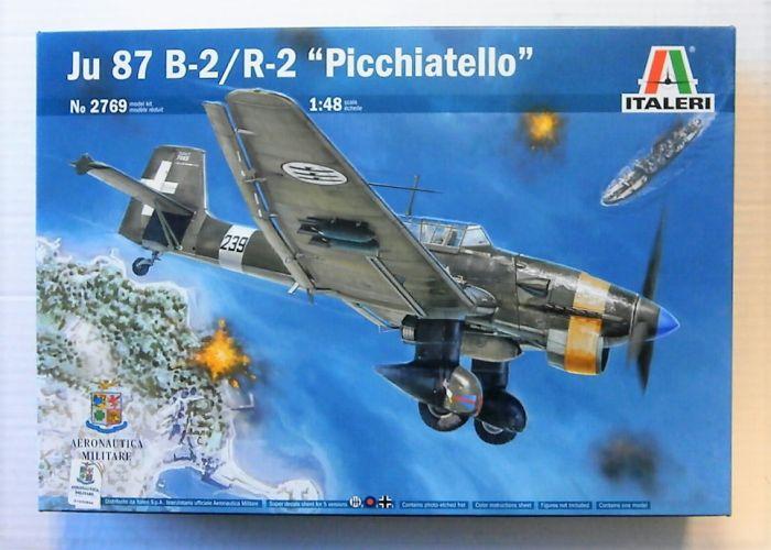 ITALERI 1/48 2769 JU 87 B-2/R-2 PICCHIATELLO