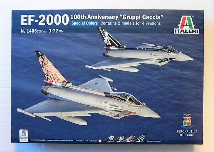 ITALERI 1/72 1406 EF-2000 SPECIAL COLORS 100TH ANNIVERSARY GRUPPI CACCIA
