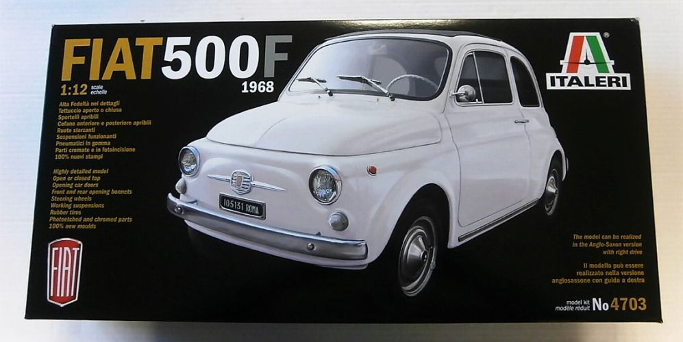ITALERI 1/12 4703 FIAT 500F 1968  UK SALE ONLY