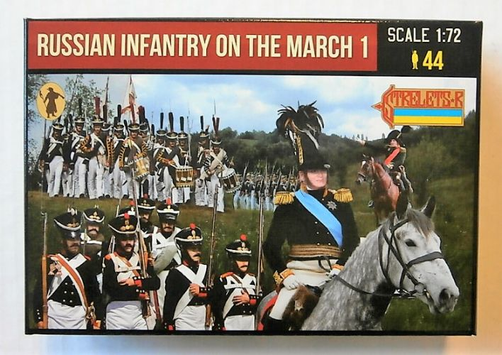 STRELETS 1/72 212 RUSSIAN INFANTRY ON THE MARCH 1