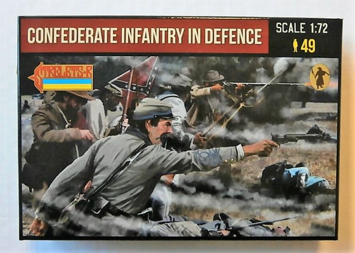 STRELETS 1/72 249 CONFEDERATE INFANTRY IN DEFENCE
