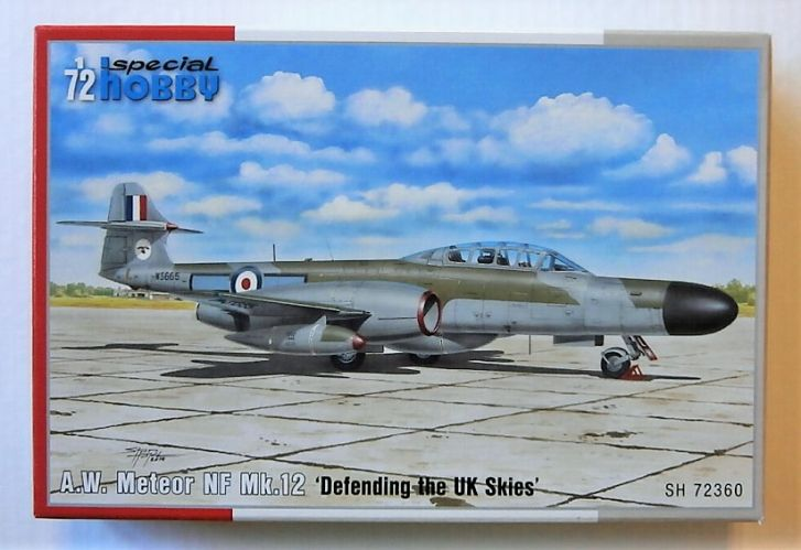 SPECIAL HOBBY 1/72 72360 A.W. METEOR NF MK.12 DEFENDING THE UK SKIES