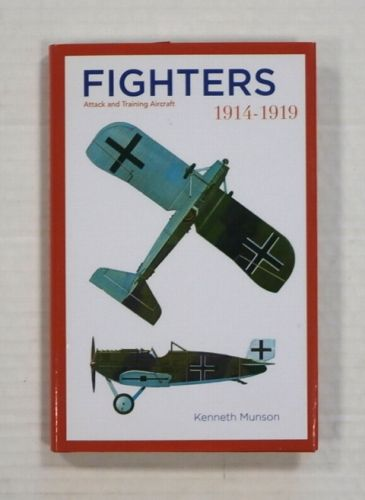 CHEAP BOOKS  ZB1334 FIGHTERS ATTACK AND TRAINING AIRCRAFT 1914-1919 - KENNETH MUNSON
