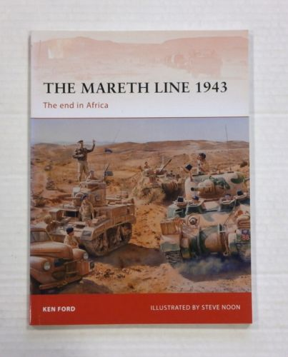 OSPREY CAMPAIGN  250. THE MARETH LINE 1943