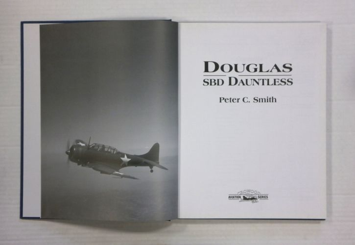 CHEAP BOOKS  ZB1340 CROWOOD AVIATION SERIES DOUGLAS SBD DAUNTLESS - PETER C. SMITH