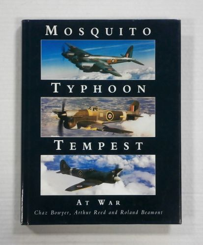 CHEAP BOOKS  ZB1338 MOSQUITO TYPHOON TEMPEST AT WAR - CHAZ BOWYER  UK SALE ONLY