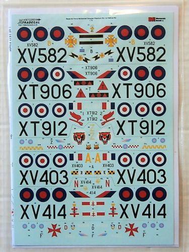 XTRADECAL 1/72 72290 RAF McDONNELL DOUGLAS  FG1   FGR2 PHANTOMS P2