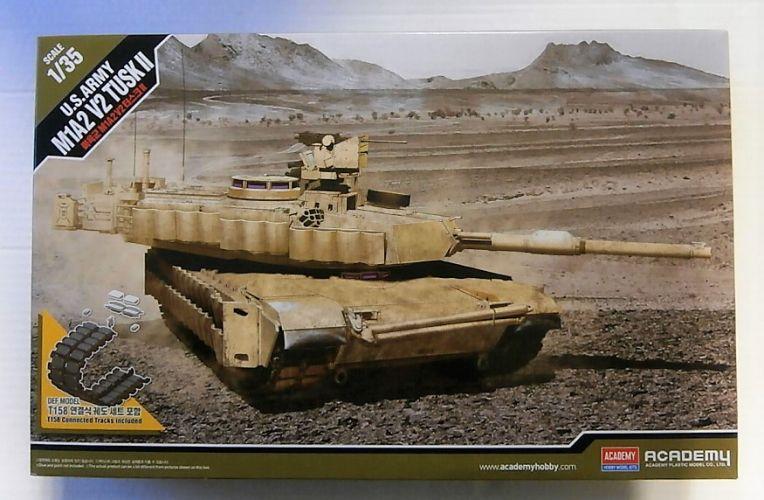 ACADEMY 1/35 13504 US ARMY M1A2 V2 TUSK II