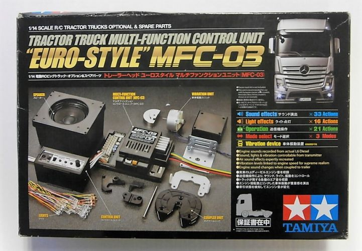 TAMIYA 1/14 56523 R/C MFC-03 TRACTOR TRUCK EURO STYLE MULTI FUNCTION CONTROL UNIT
