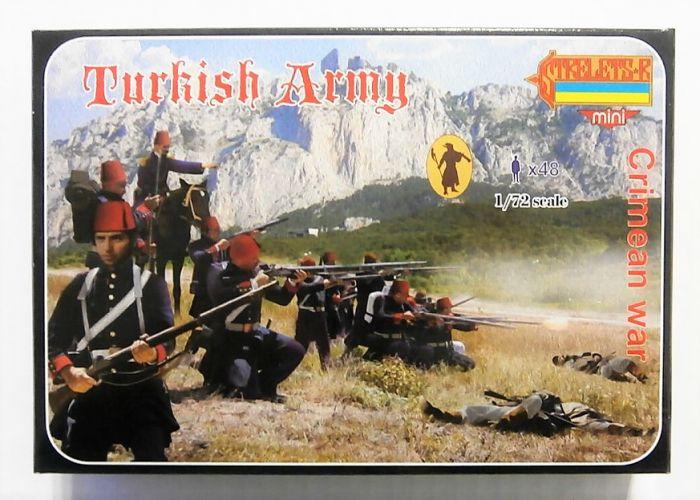 STRELETS 1/72 M052 TURKISH ARMY CRIMEAN WAR