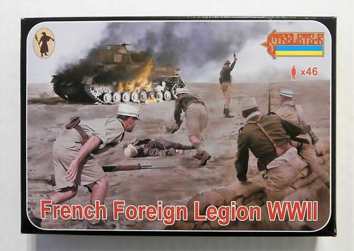 STRELETS 1/72 187 FRENCH FOREIGN LEGION WWII