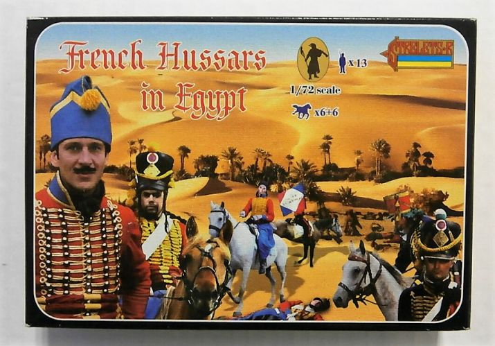 STRELETS 1/72 118 FRENCH HUSSARS IN EGYPT