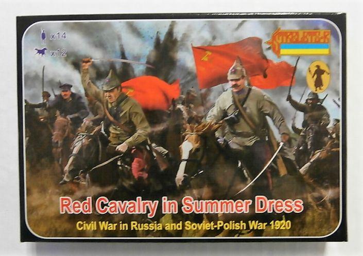 STRELETS 1/72 164 RED CAVALRY IN SUMMER DRESS