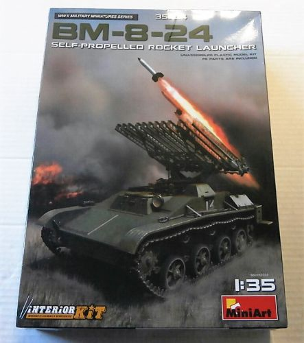 MINIART 1/35 35234 BM-8-24 SELF PROPELLED ROCKET LAUNCHER
