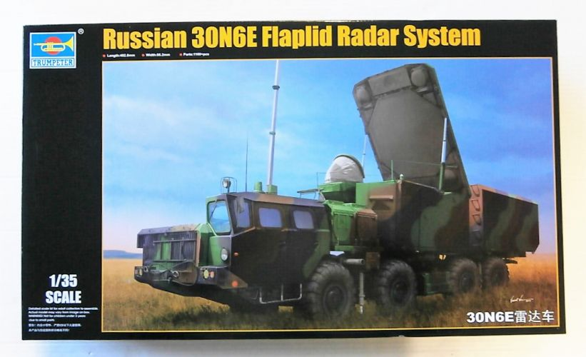 TRUMPETER 1/35 01043 RUSSIAN 30N6E FLAPLID RADAR SYSTEM  UK SALE ONLY