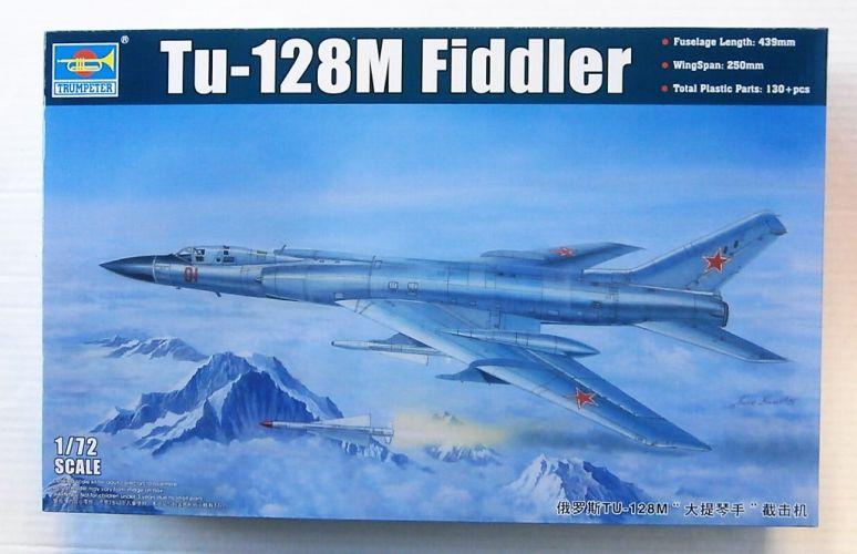 TRUMPETER 1/72 01687 TU-128M FIDDLER
