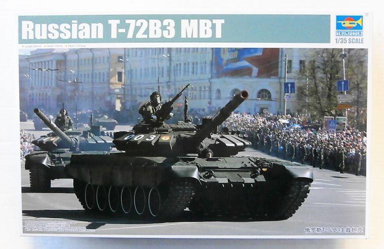 TRUMPETER 1/35 09508 RUSSIAN T-72B3 MBT