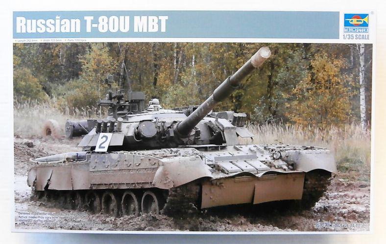 TRUMPETER 1/35 09525 RUSSIAN T-80U MBT