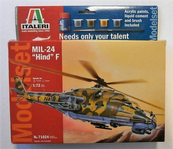 ITALERI 1/72 70124 MIL-24 HIND F