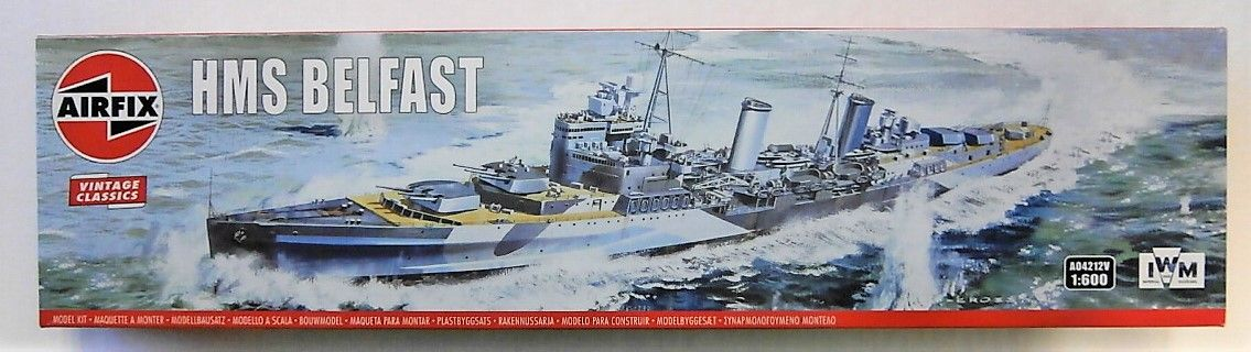 AIRFIX 1/600 A04212V HMS BELFAST