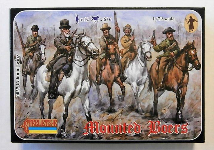 STRELETS 1/72 0037 MOUNTED BOERS