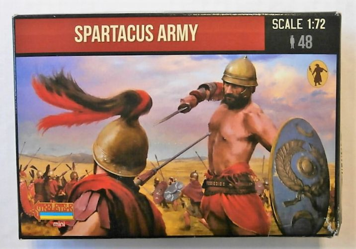STRELETS 1/72 M077 SPARTACUS ARMY