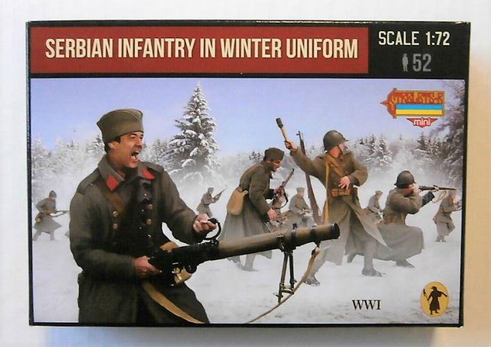 STRELETS 1/72 M126 SERBIAN INFANTRY IN WINTER UNIFORM