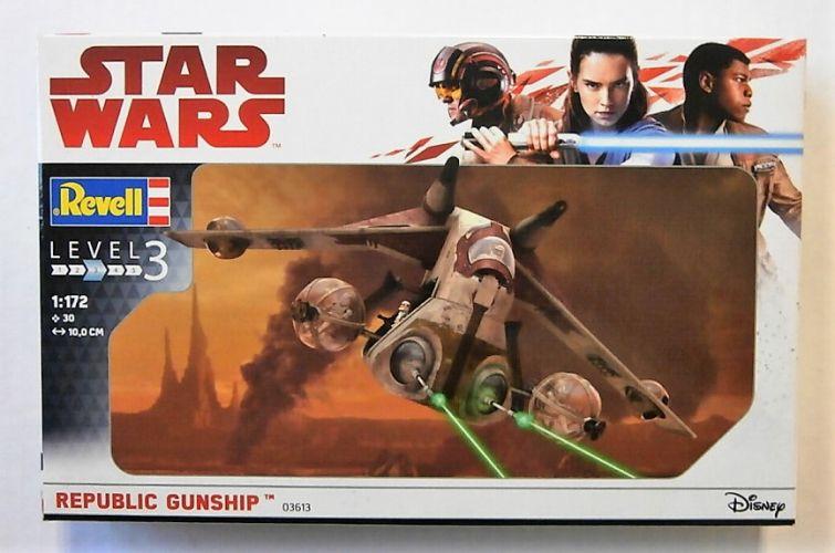 REVELL 1/172 03613 STAR WARS REPUBLIC GUNSHIP